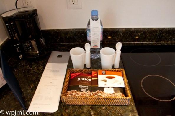 Hyatt Regency Cancun - Eternity Suite - coffee