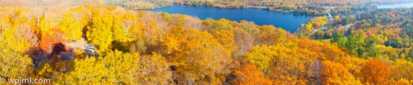 Panorama from Dorset Lookout - Ontario Fall