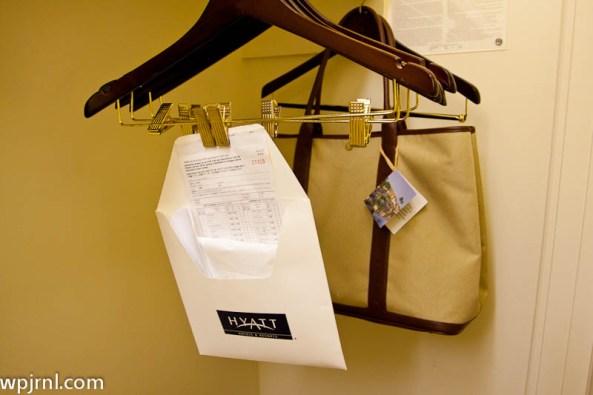 Grand Hyatt Kauai Deluxe Ocean Suite - Laundry Bags