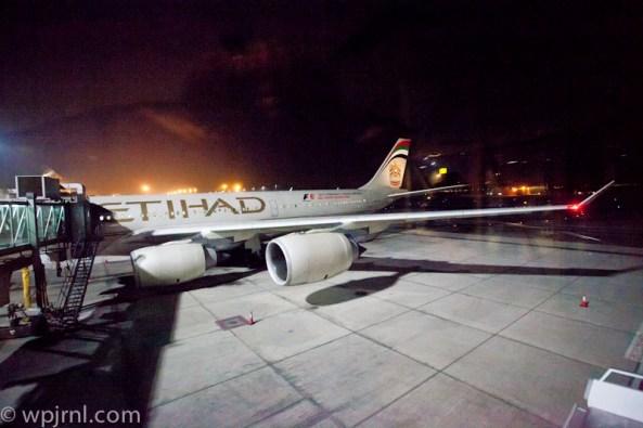 Etihad Airways New York to Abu Dhabi First Class - Airbus A346