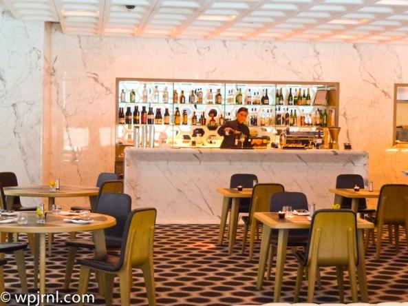 Qantas First Class Lounge Melbourne - Bar