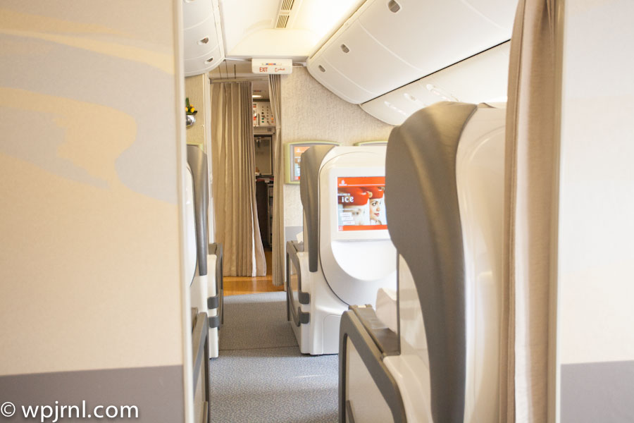 Emirates Boeing 777 200 First Class