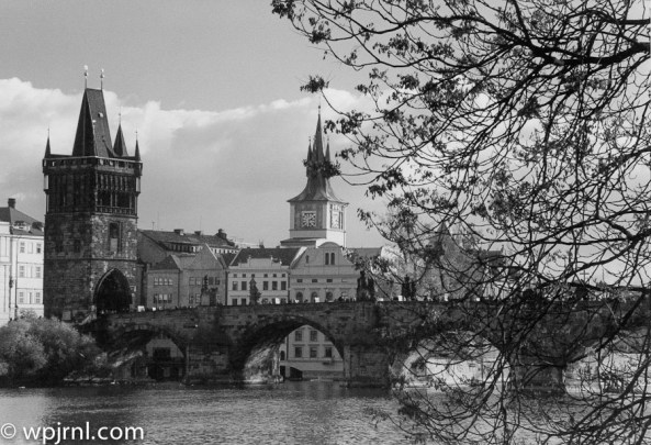 Prague B&W - Charles Bridge