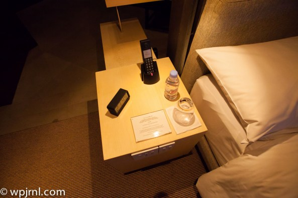 Park Hyatt Shanghai Diplomatic Suite - night table