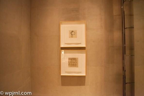 Park Hyatt Shanghai Diplomatic Suite - bathroom walls