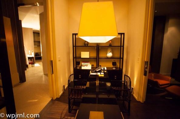 Park Hyatt Shanghai Diplomatic Suite - office