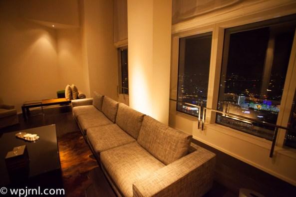 Park Hyatt Shanghai Diplomatic Suite - living room