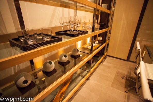 Park Hyatt Shanghai Diplomatic Suite - dinning room
