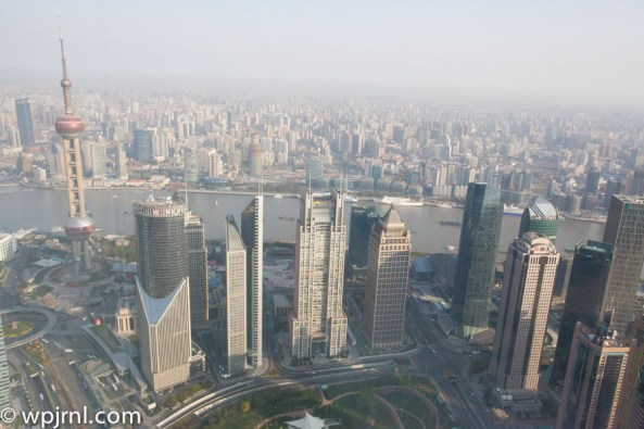 Park Hyatt Shanghai Diplomatic Suite - view from room