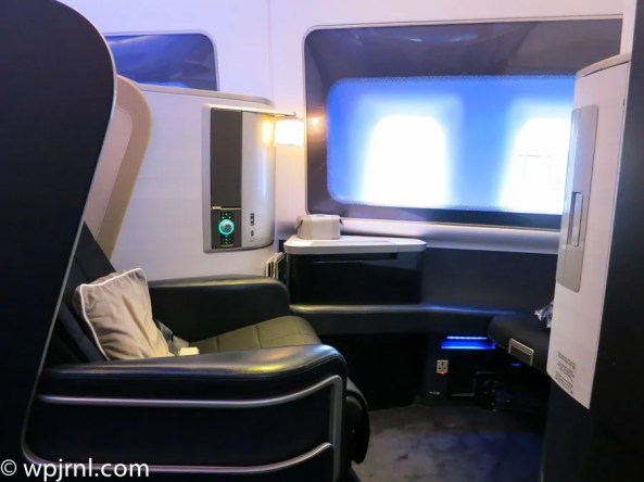 New British Airways First Class London to Miami - Seat 1A