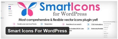 Smart Icons For WordPress