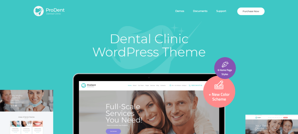 10 Best Dentist WordPress Themes