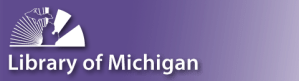 Library of Michigan logo