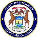 icon and link to Michigan's Secretary of State website