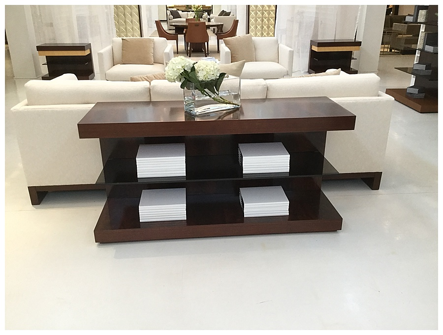 The Console Table  Sofa Table  WPL Interior Design