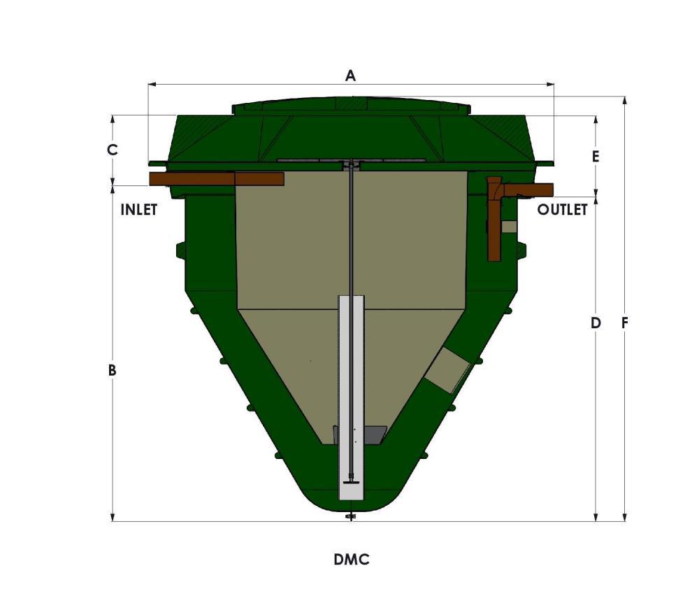 medium resolution of technical drawing of a below ground wpl diamond