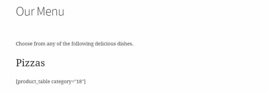 restaurantordering 19 menu