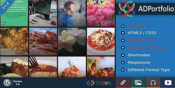 AD Portfolio Filter and Carousel WordPress Plugin