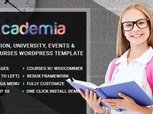 Academia - Education Center WordPress Theme
