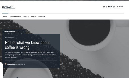 Array Themes Lenscap WordPress Theme