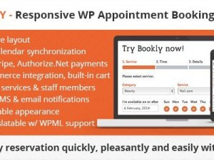 Bookly Booking Plugin - Responsive Appointment Booking and Scheduling