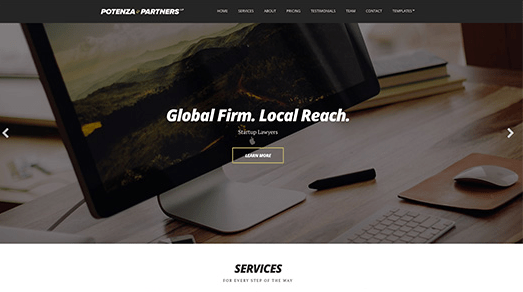 CSS Igniter Potenza WordPress Theme