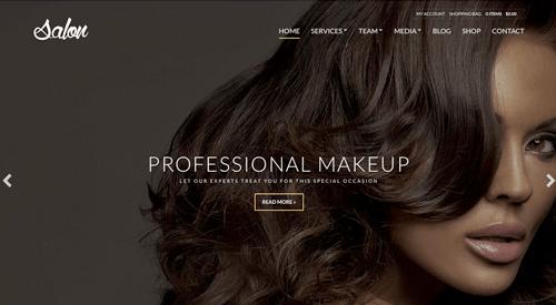 CSS Igniter Salon WordPress Theme
