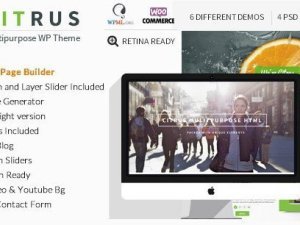 Citrus - One Page Multi-Purpose Theme
