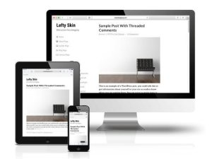 CobaltApps Lefty Skin For Dynamik Website Builder