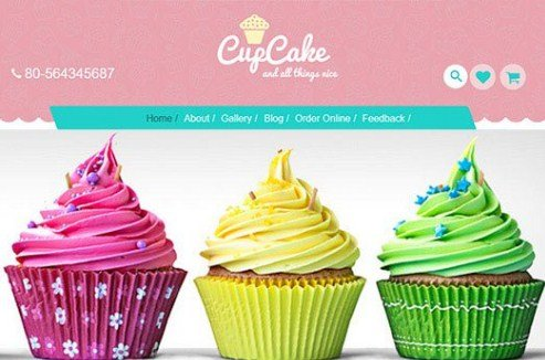 CyberChimps CupCake WordPress Theme