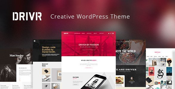 Driver - Responsive Multi-Purpose WordPress Theme