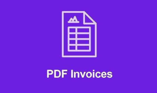 Easy Digital Downloads PDF Invoices Addon