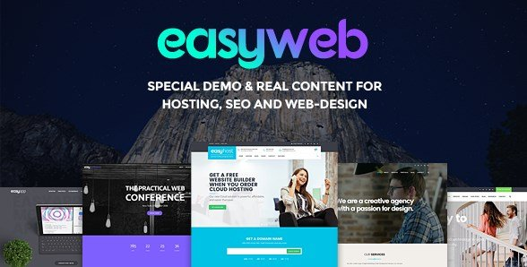 EasyWeb - WP Theme For Hosting and Web-design Agencies