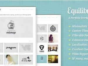 Equilibrium - Clean and Modern WP Portfolio Theme