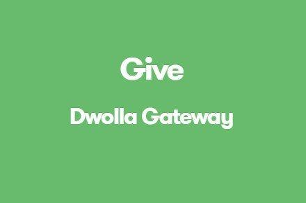 Give Dwolla Gateway