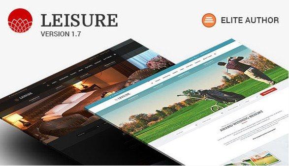 Hotel WordPress Theme - Hotel Leisure