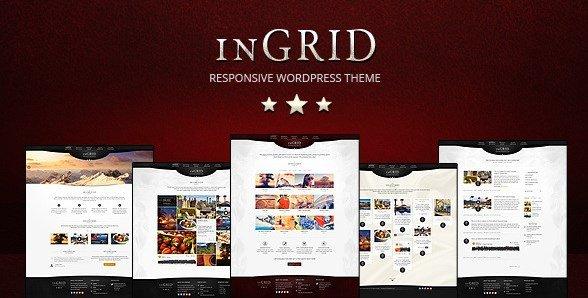 InGRID - Responsive Multi-Purpose WordPress Theme