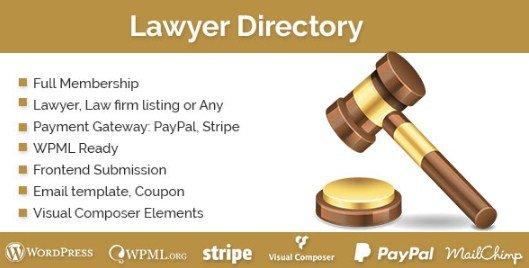 Lawyer Directory WordPress Plugin