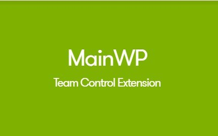 MainWP Team Control Extension