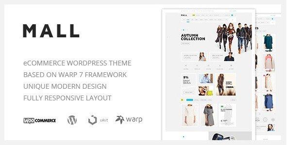 Mall - Clean Multi-Purpose WooCommerce Responsive WordPress Theme