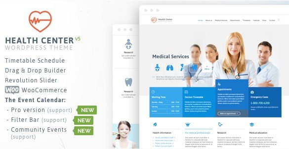 Medical Health - Theme For Medical Health And Dentist Center