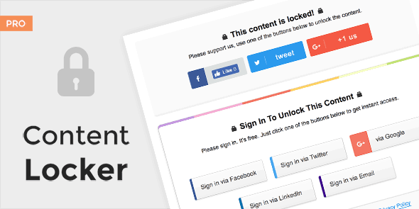 WPLocker-MyThemeShop Content Locker Pro WordPress Plugin