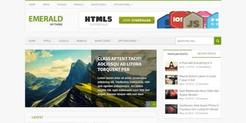 WPLocker-MyThemeShop Emerald WordPress Theme