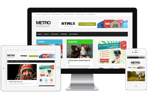 WPLocker-MyThemeShop Metro WordPress Theme