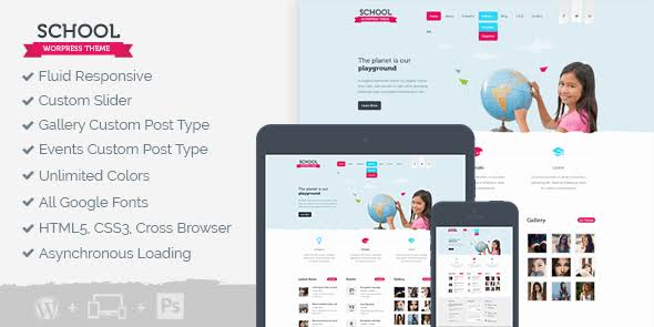 WPLocker-MyThemeShop School WordPress Theme