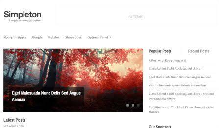 WPLocker-MyThemeShop Simpleton WordPress Theme