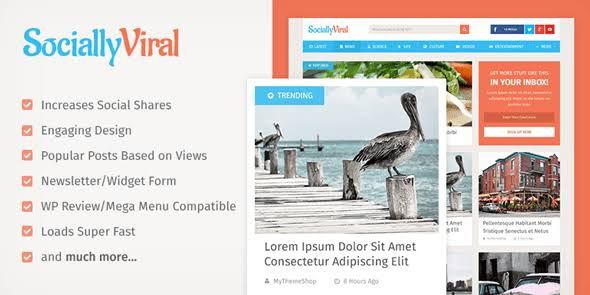 WPLocker-MyThemeShop SociallyViral WordPress Theme