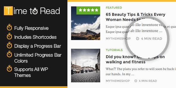 WPLocker-MyThemeShop WP Time To Read WordPress Plugin