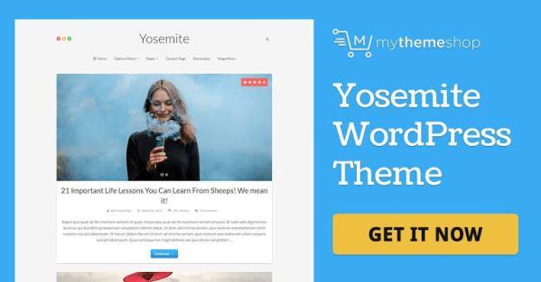WPLocker-MyThemeShop Yosemite WordPress Theme