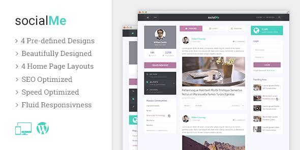 WPLocker-MyThemeShop socialMe WordPress Theme